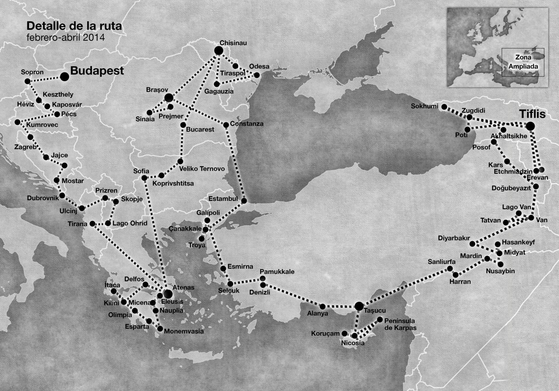 mapa polifemo vive al este