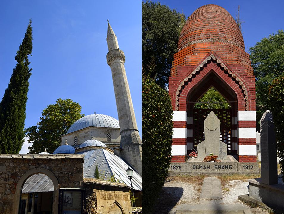 Mezquita Karadoz Bey y türbe de Osman Đikić