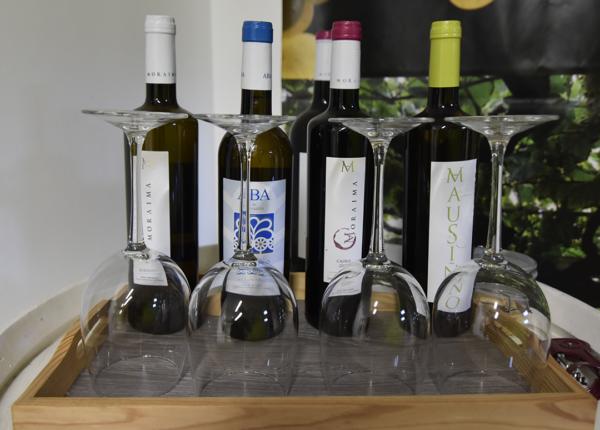 vinos adega moraima