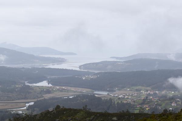 Vistas desde el Monte Castelo