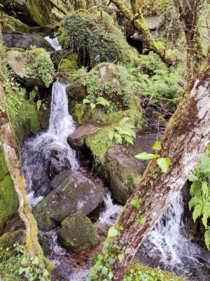 Cascada miradoiro As Fontiñas