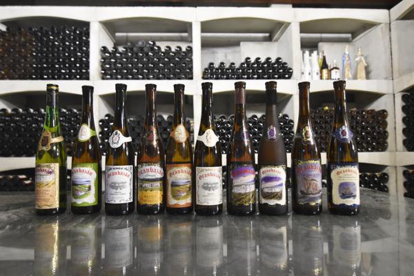 Botellas Granbazán